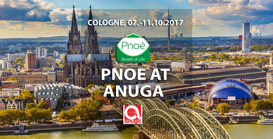 Pnoe at ANUGA 2017, Cologne